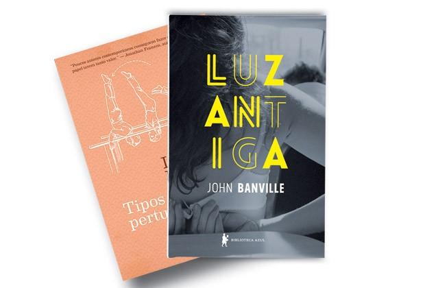 Luz antiga de John Banville e Tipos de Perturbação de Lydia Davis (Foto: Divulgação)