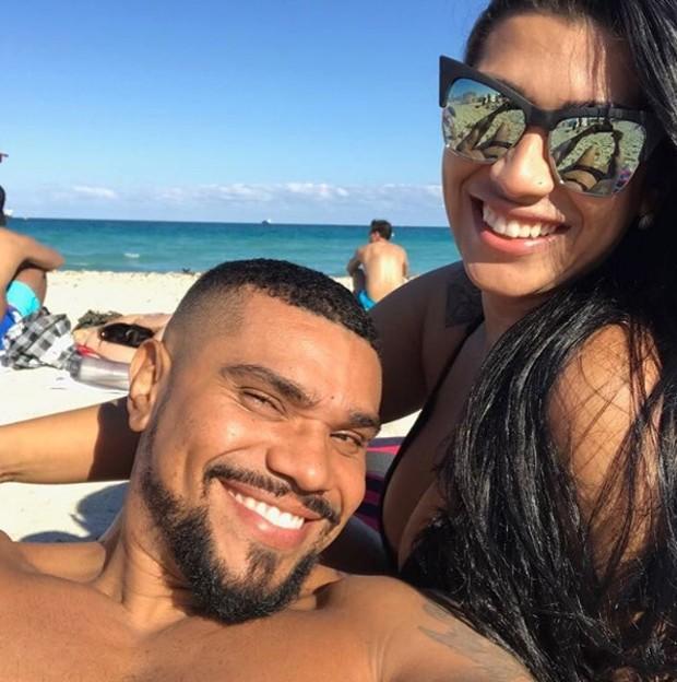 Ellen Cardoso e Naldo (Foto: Reprodução/Instagram)