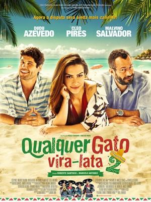 Cartaz de 'Qualquer gato vira-lata 2' (Foto: Divulgação)