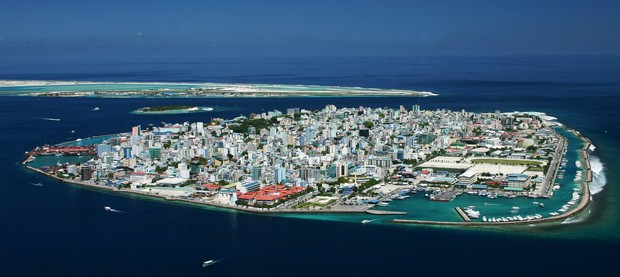 Malé, capital das Maldivas (Foto: Wikimedia Commons)