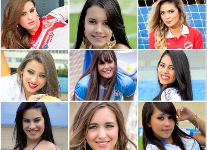 Musas - Campeonato Goiano 2014 (Foto: Divulgação)