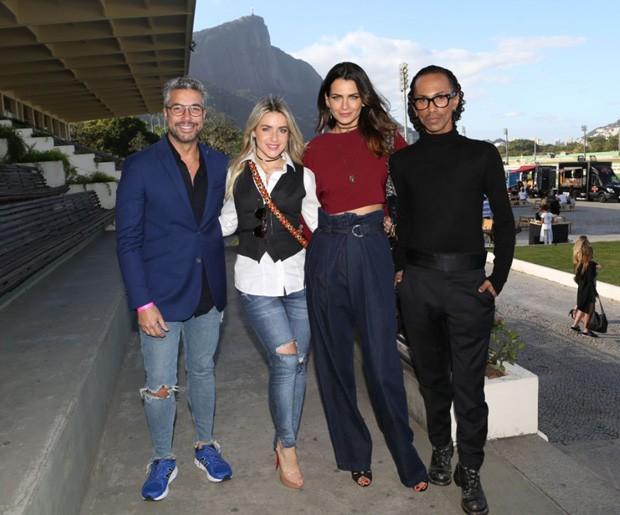 Fernando Torquatto, Monique Alfradique, Fernanda Motta e Max Weber (Foto: Divulgação)