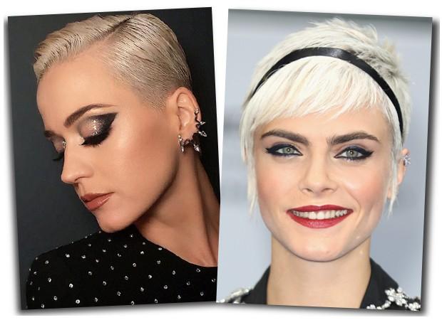 Katy Perry e Cara Delevigne  (Foto: Pinterest )