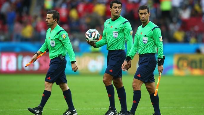 sandro meira ricci arbitro (Foto: Getty Images)