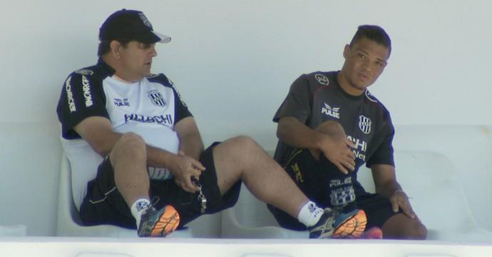 Guto Ferreira, Nathan, Ponte Preta (Foto: Carlos Velardi/ EPTV)