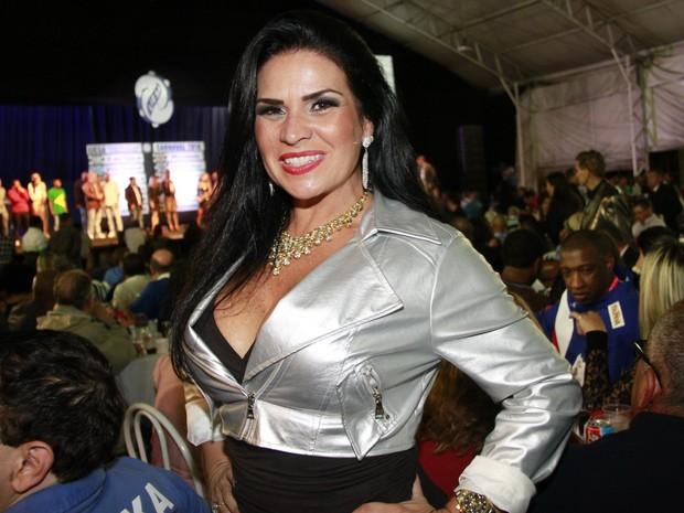 Solange Gomes em evento no Rio (Foto: Isac Luz/ EGO)