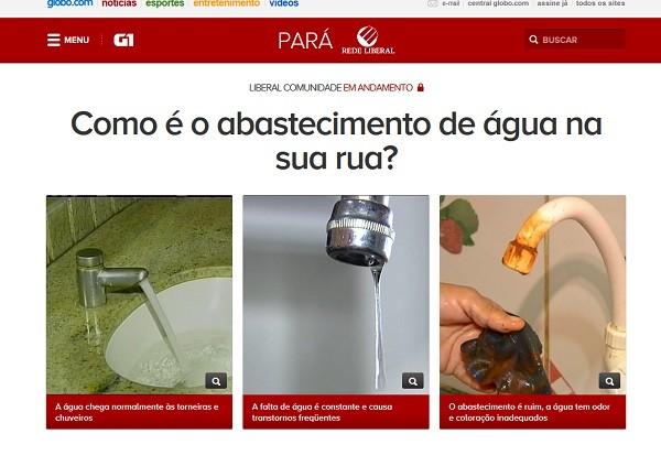LibCom agua (Foto: Divulgação)