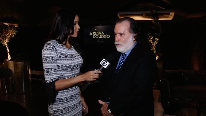 Tony Ramos interpreta Zé Maria na trama de A Regra do Jogo. (Foto: Produção / Se Liga VM)