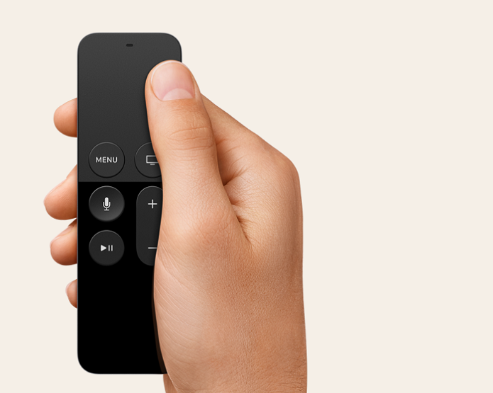 Novo controle da Apple TV (Foto: Divulgação/Apple)