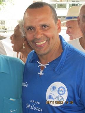 Marcos Falcon, Monarco e Noca da Portela (Foto: Reprodução/Facebook)