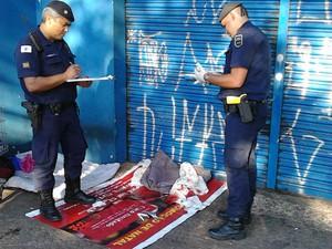 Guarda Municipal ajuda em parto na região central de Campinas (Foto: Arquivo Pessoal/ Guarda Municipal)