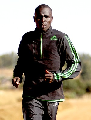 Emmanuel Mutai maratonista queniano  (Foto: Getty Images)