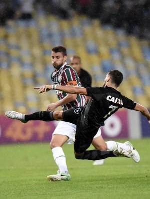 Henrique Rodrigo Pimpão Fluminense x Botafogo - Campeonato Brasileiro 2017 (Foto: André Durão)