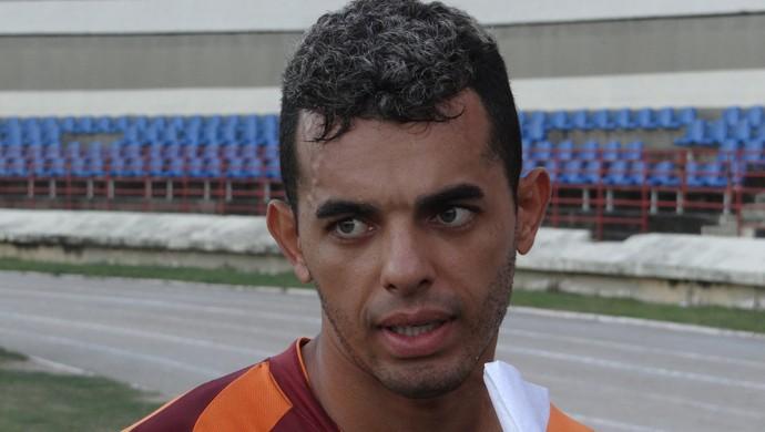 Johnnattan não esconde ansiedade, mas garante que grupo está confiante (Foto: Denison Roma / GloboEsporte.com)