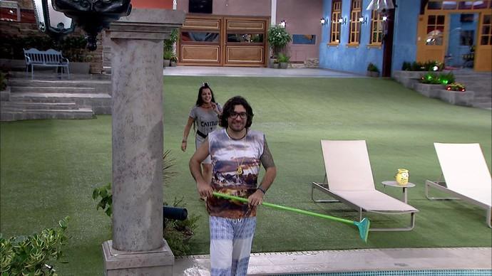 Emilly e Ilmar (Foto: TV Globo)
