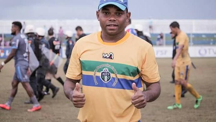 Carlinhos Bala no Frei Paulistano (Foto: Wendell Rezende/AOItabaiana)
