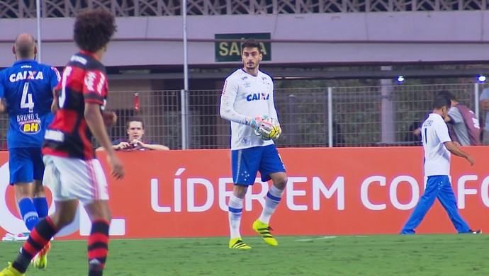 Rafael, goleiro do Cruzeiro (Foto: Reprodução / Premiere)