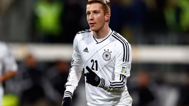Marco Reus gol Alemanha x Cazaquistão (Foto: Reuters)