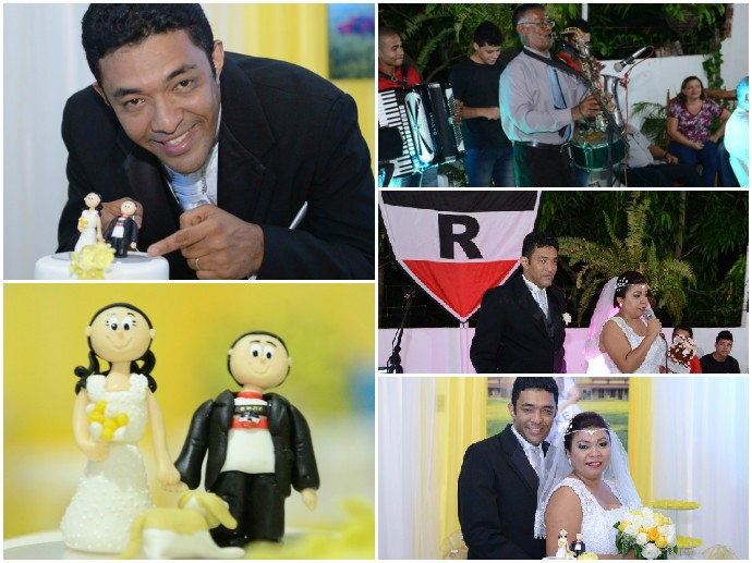 Casamento riverino (Foto: Arquivo Pessoal)