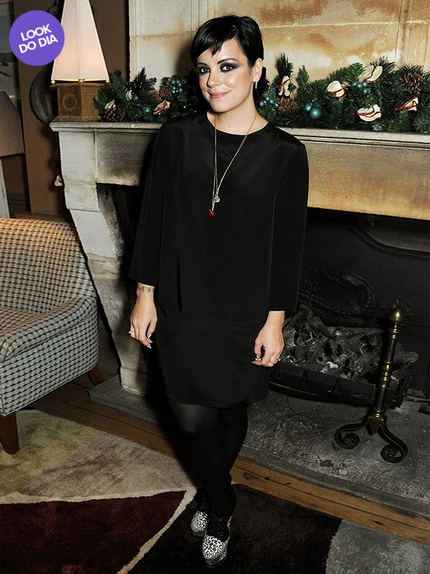Lily Allen - Look do dia (Foto: Getty Images)