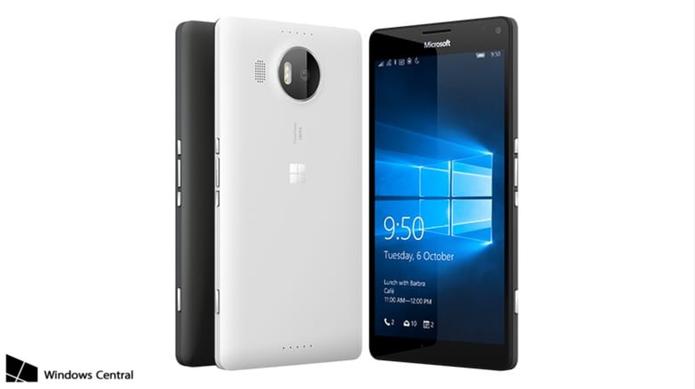 Lumia 950 XL é um top de linha maior e mais poderoso equipado com o Windows 10 Mobile (Foto: Reprodução/Windows Central)