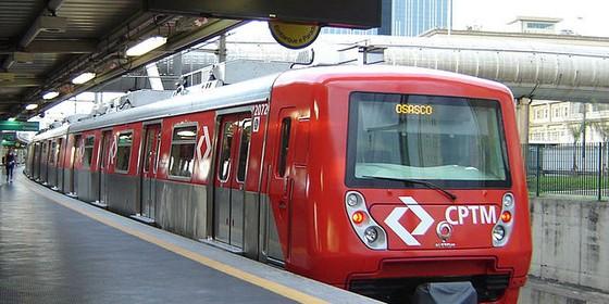 Trem da CPTM feito pela Alstom (Foto: Wikimedia Commons)