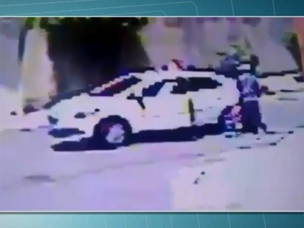 Taxista é morto na Zona Leste de São Paulo (Foto: TV Globo/Reprodução)