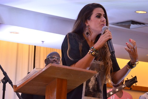 Danielle Favatto, ex de Romário (Foto: Roberto Teixeira/EGO)