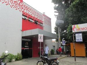 Centro é o único do estado a trabalhar com transfusão de sangue (Foto: Catarina Costa / G1)