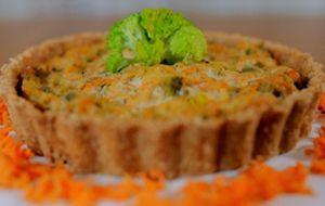 Quiche de tofu com legumes: receita de Bela Gil