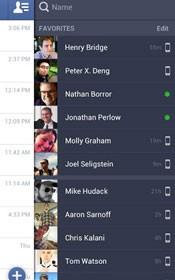 Facebook Messenger permite comunicação instantânea com os amigos da rede social. (Foto: Reprodução)