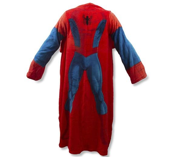 Cobertor com mangas Marvel Spider, Etna, R$ 99,99 (Foto: Divulgação)