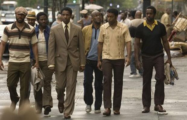 'Gangster Americano', estrelado por Denzel Washington, também retrata Muhammad Ali nos ringues. (Foto: Divulgação)
