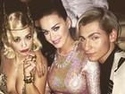 Rita Ora abusa da transprência em festa com Katy Perry e Lindsay Lohan