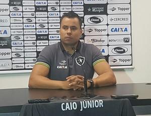 Coletiva Jair Ventura Botafogo (Foto: Marcelo Baltar)