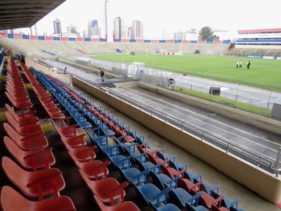 Vila Capanema Paraná Clube Coritiba (Foto: Fernando Freire)