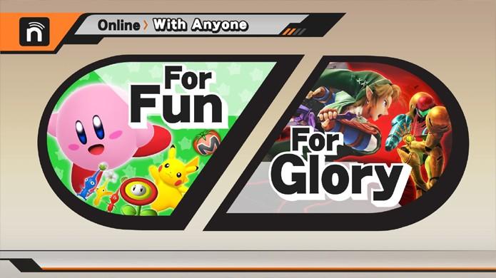 Super Smash Bros. permitirá lutar apenas por diversão ou para conquistar glória (Foto: gematsu.com)