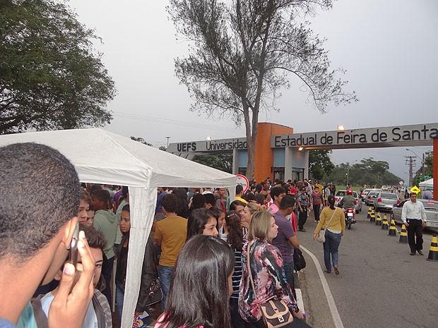 UEFS (Foto: Ney Silva/Acorda Cidade)
