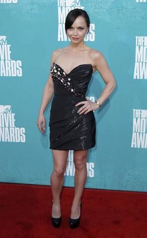 Christina Ricci no MTV Movie Awards (Foto: Reuters/ Agência)