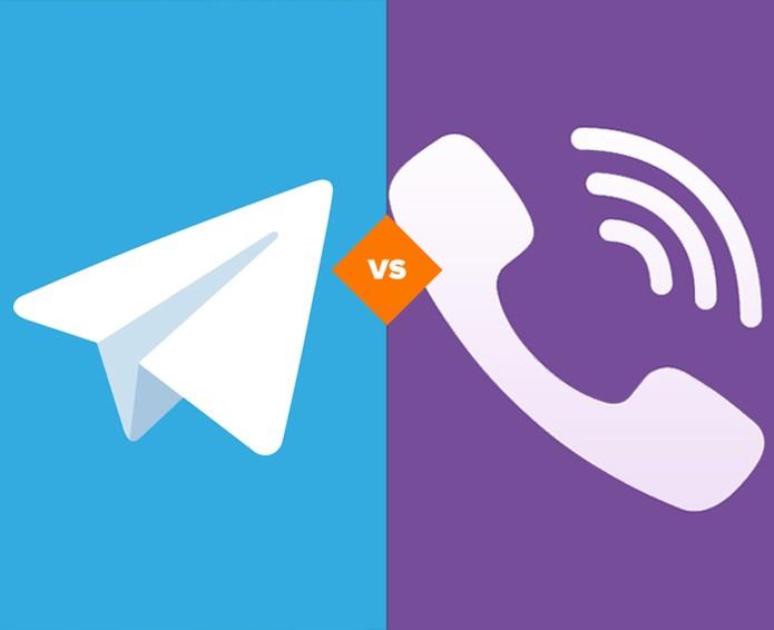 Telegram ou Viber? Descubra qual app de mensagens é o ideal para você. (Foto: Arte/TechTudo)