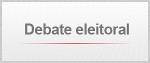 Debate eleitoral (Foto: G1)