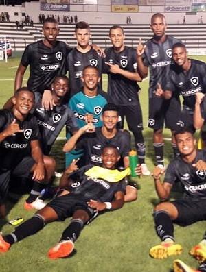 Botafogo Copinha (Foto: Reprodução Twitter)