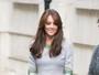 Kate Middleton visita escola infantil em Londres