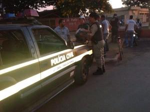 Polícia realiza operação em Papagaios (Foto: Polícia Militar/Divulgação)
