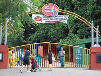 Parque Dois Irmãos terá brinquedos, oficinas e exposições. (Foto: Vanessa Bahé/ G1)