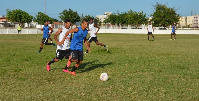 Seletiva do Botafogo-PB, Maravilha do Contorno, João Pessoa, Paraíba (Foto: Larissa Keren / GloboEsporte.com/pb)