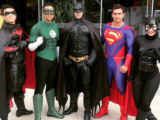 Super Heróis (Foto: Cia Mix da Alegria/Divulgação)