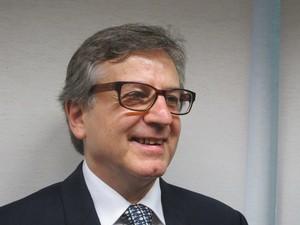 vice-presidente de Economia do SindusCon-SP, Eduardo Zaidan (Foto: Darlan Alvarenga/G1)