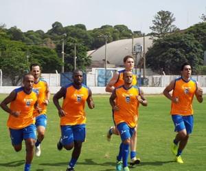 Primeiro treino do Rio Claro em 2015 (Foto: Altieris Junior/AI Rio Claro)