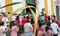 Missa de Ramos abre Semana Santa em Manaus; FOTOS (Ive Rylo/G1 AM)